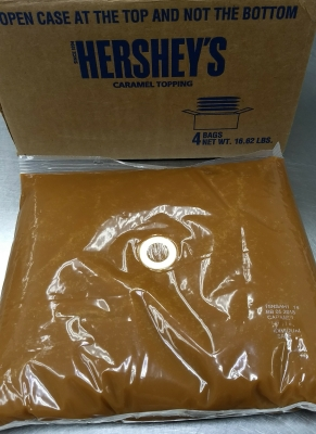 HERSHEY'S Classic Caramel Topping - New Packaging