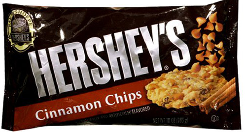 HERSHEY'S Cinnamon Chips Full Case