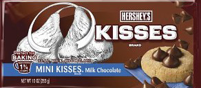 HERSHEY'S MINI KISSES For Baking Unwrapped